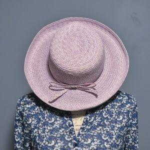 Betmar Lavender Straw (Paper) Sun Hat